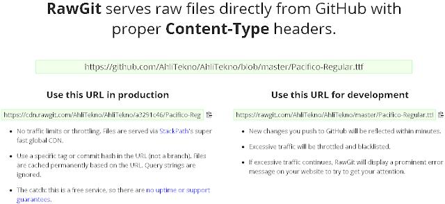 Menggunakan Custom Font Sendiri di Blogger