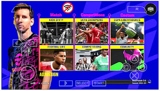 Download eFootball PES 2022 PPSSPP Mobile Final Update Commentary Peter Drury PS5 New Faces & Latest Transfer