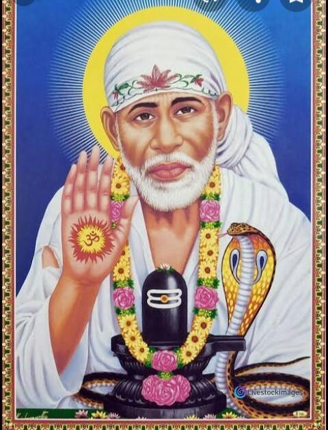 Sai baba image with Shiva