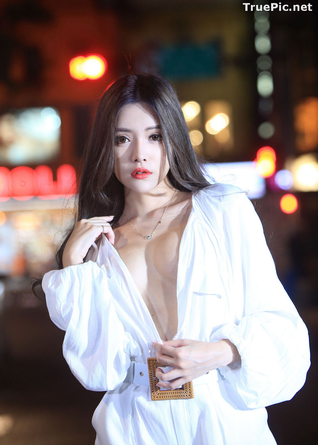 Image Taiwanese Model – 莊舒潔 (ViVi) – Sexy and Pure Baby In Night - TruePic.net - Picture-5