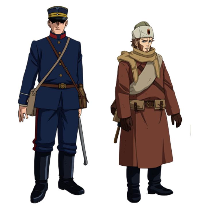 Golden Kamuy anime - Temporada 3 - personajes