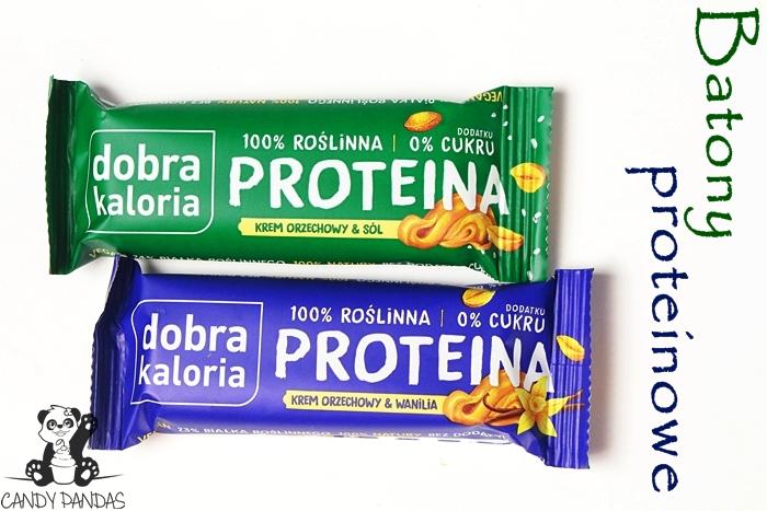 Baton proteinowy - krem orzechowy & wanilia/sól