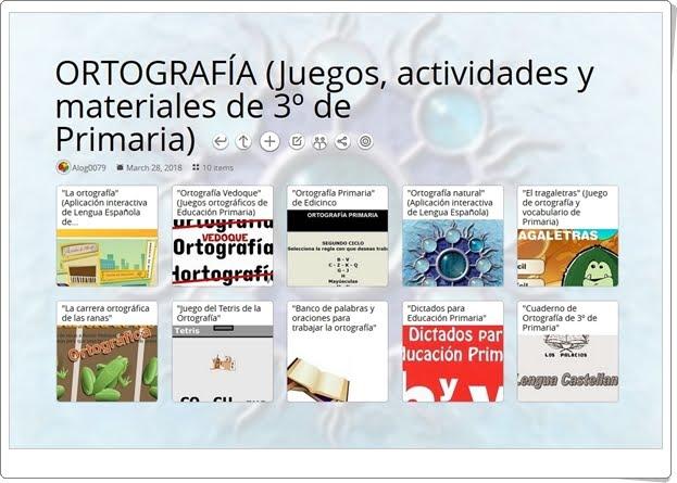 """""""10 Juegos, actividades y materiales para la práctica de la ORTOGRAFÍA en 3º de Primaria"""""""