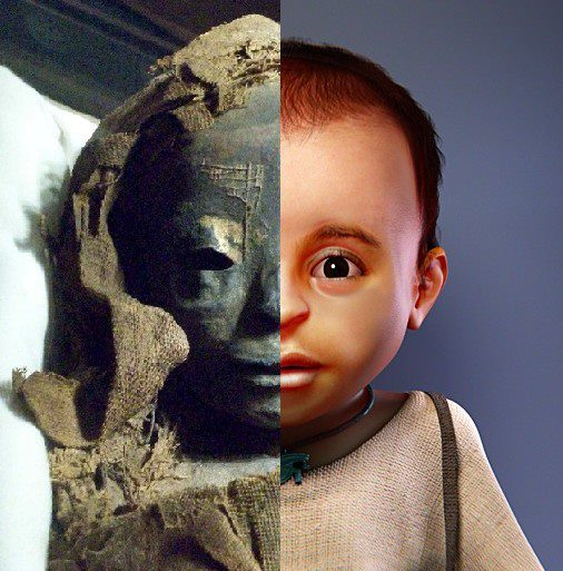 Mummy Facial Reconstruction 95