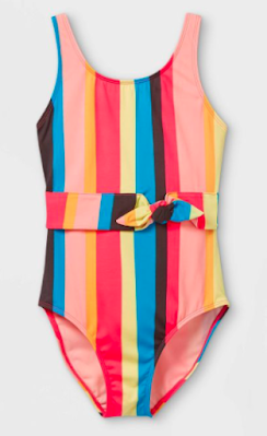 Girls Magical Water One Piece Swimsuit