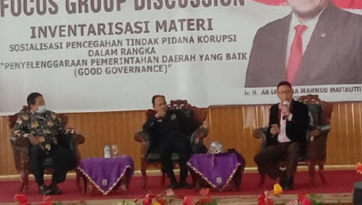 Ketua Komite I DPD RI Jadi Pembicara di Lampung Bahas Regulasi Pemerintah