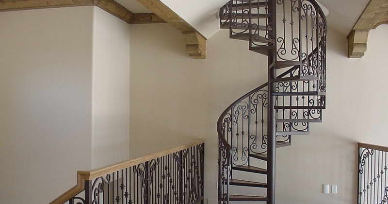 baja ringan k steel bengkel las jaya raya: tangga putar