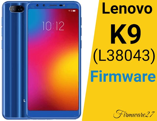Firmware & Tool Lenovo K9 (L38043) Mediatek MT6762