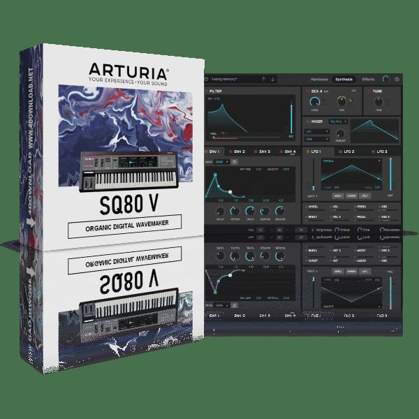 Arturia SQ80 V v1.0.0 Full version