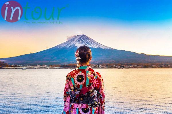 vẻ đẹp của núi Phú Sĩ