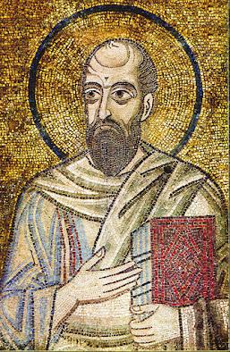 Τα ψηφιδωτά της Αγίας Σοφίας στο Κίεβο The Apostle Paul in St. Sophia of Kyiv