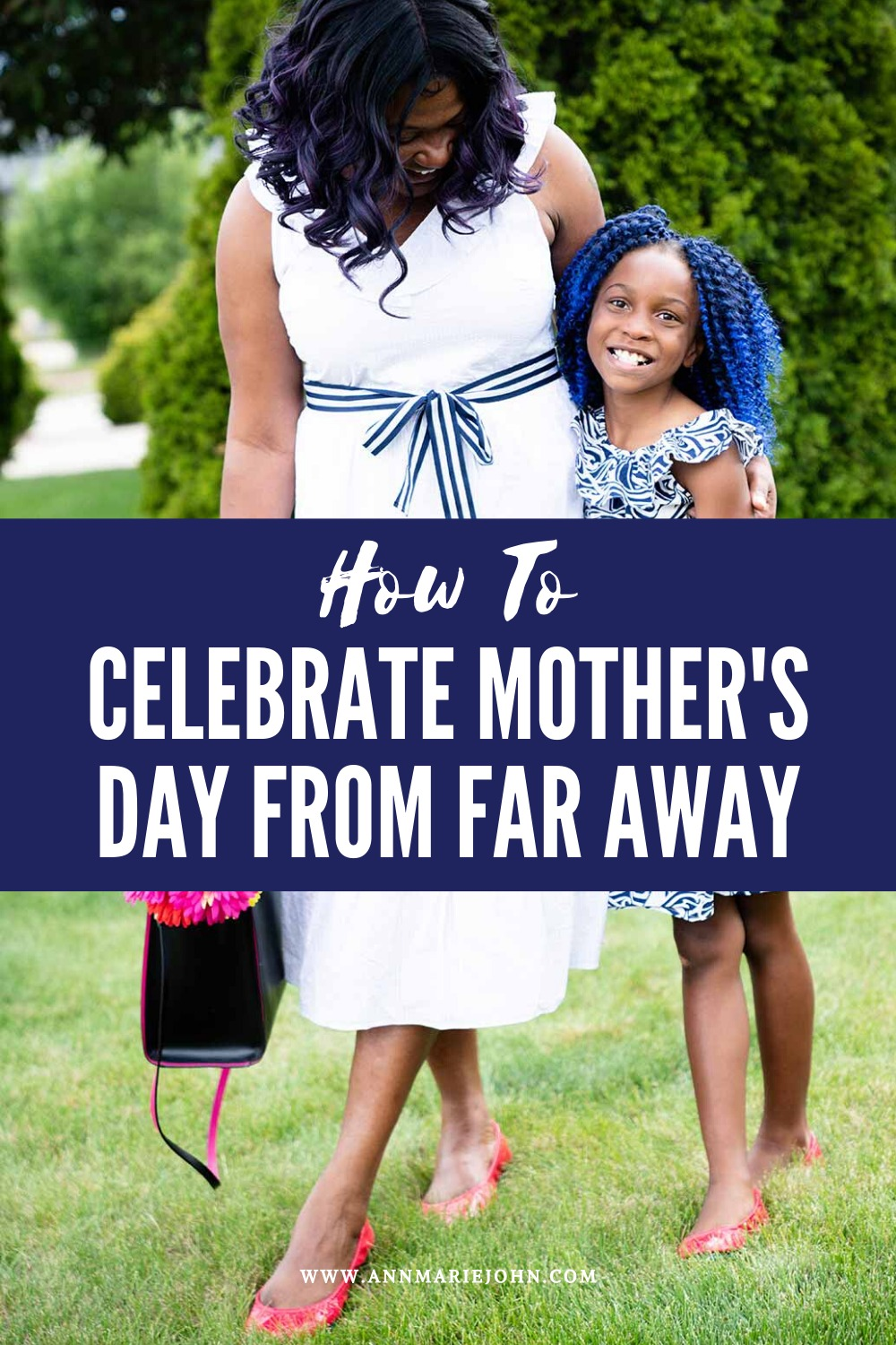 How to Celebrate Mother's Day From Far Away - Mother-Daughter Tieks