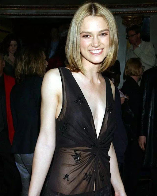 Keira Knightley Straight Bob Hairstyle