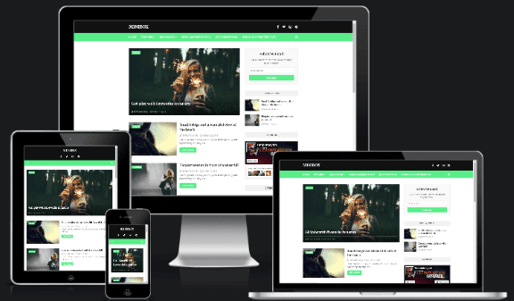MiniBox Responsive Blogger Template  for free