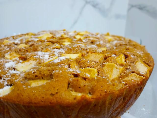 receita bolo de maçã