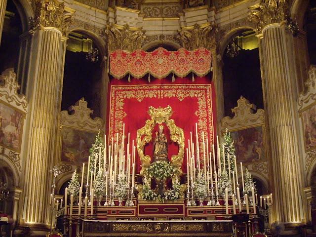 Resultado de imagen de santa maria de la victoria a la catedral de malaga