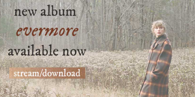16 track di Album Terbaru Taylor Swift: Evermore