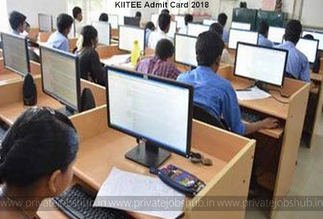 KIITEE Admit Card 2018 kiitee.kiit.ac.in Download Hall Ticket, Exam Date