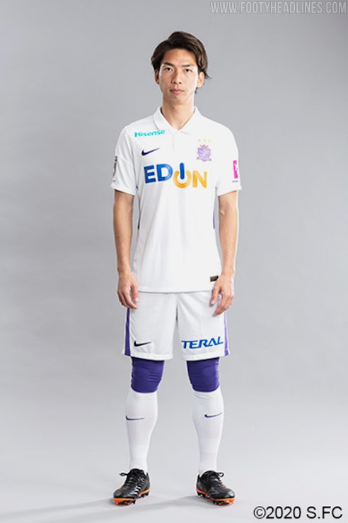 Sanfrecce Hiroshima 2021 Home & Away Kits Revealed - Footy Headlines
