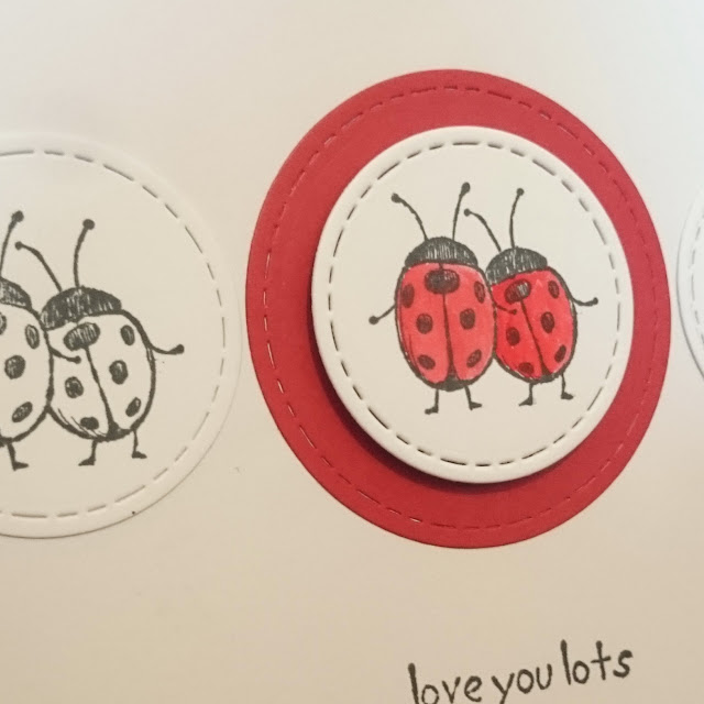 [DIY] Little Ladybug Love: Greeting Card Love You Lots