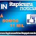 Página do Itapicuru Notícias no facebook chega a 11 mil curtidas