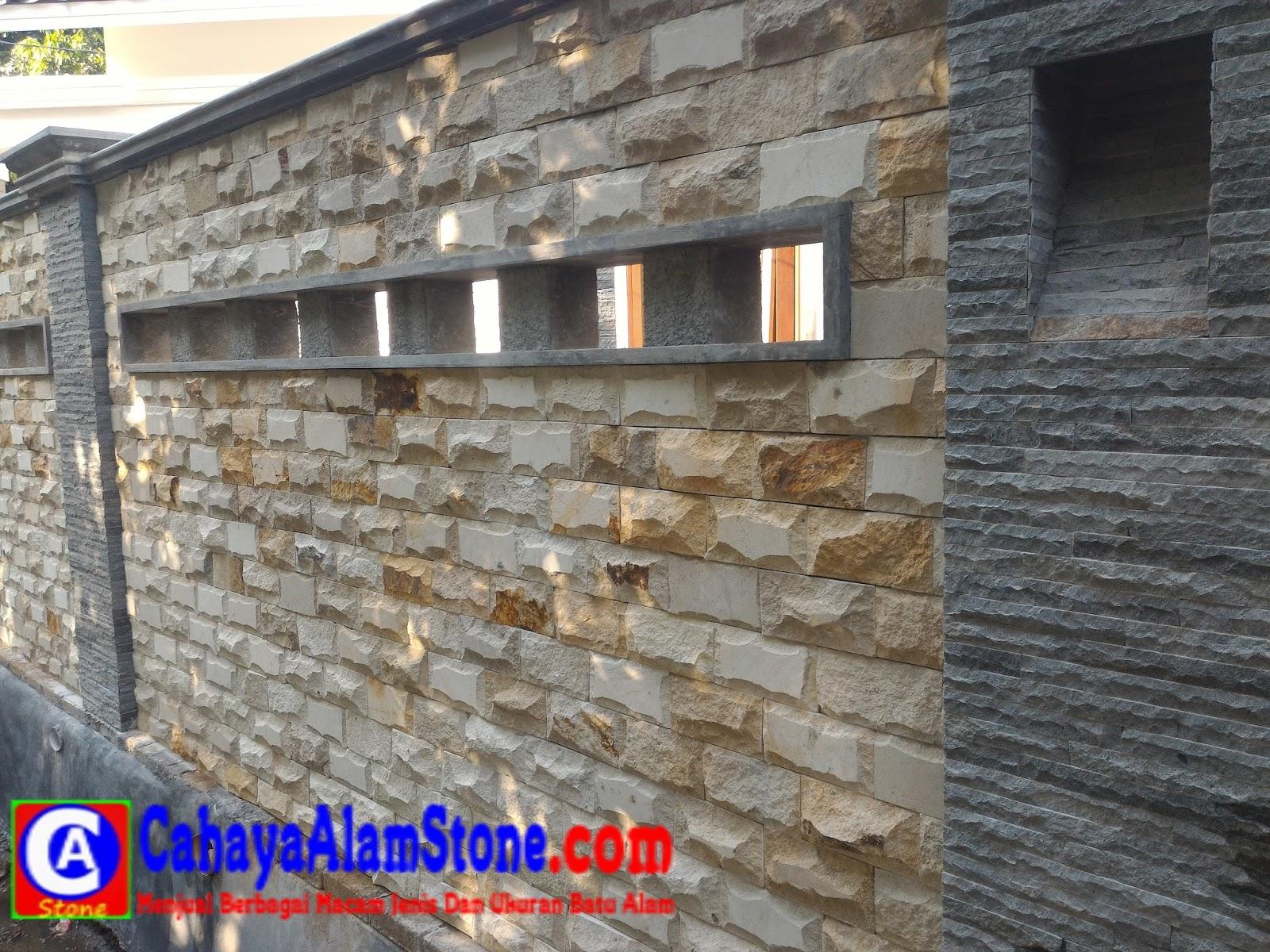 Batu Hiasan Dinding Luar Rumah Cek Bahan Bangunan Hiasan tembok luar rumah