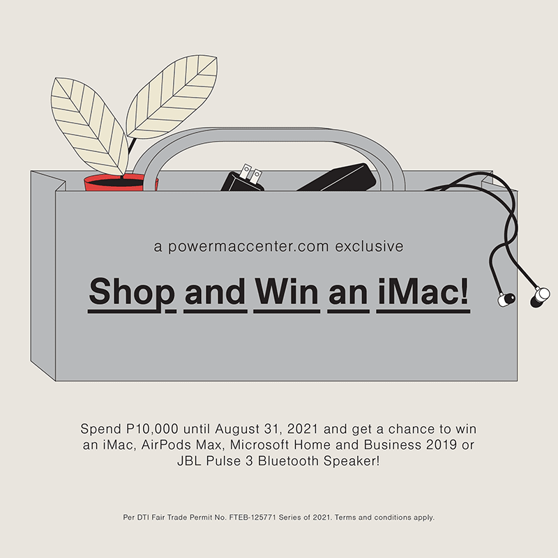 Get a chance to win an Apple iMac worth PHP 75,990