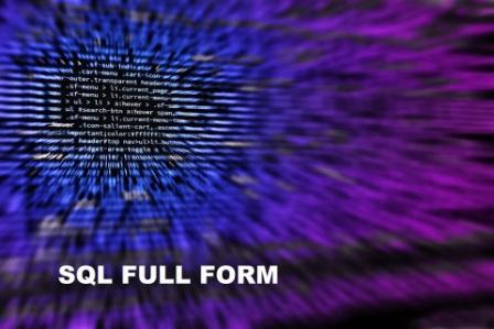 SQL full form