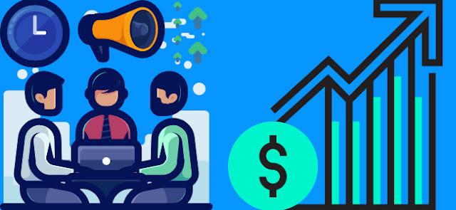 Marketing helps increase sales doanh