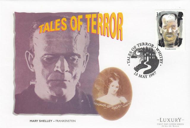 GB FDC Tales of Terror Frankenstein