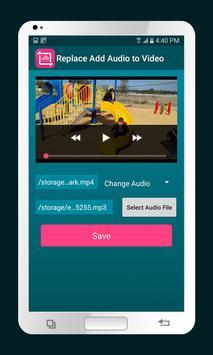 تحميل برنامج Replace Add Audio to Video