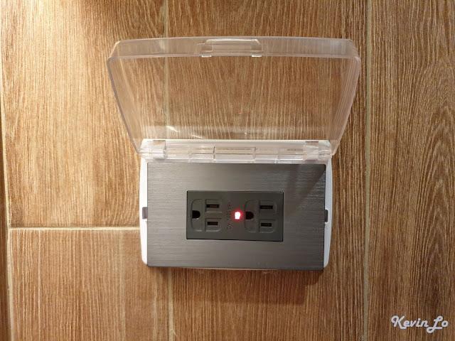 康橋慢旅浴室插座