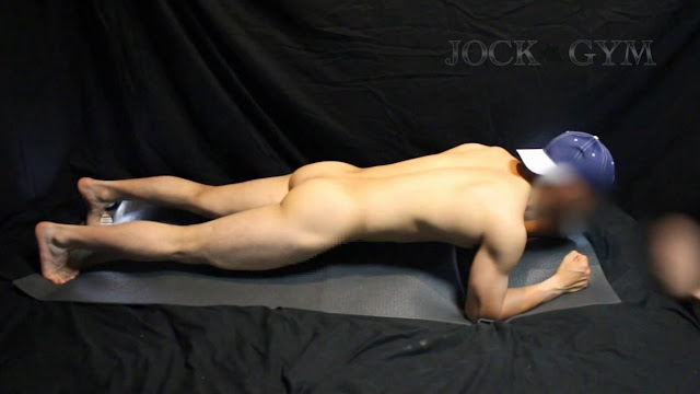 RJM010 Workout 4 /日々練習に没頭する童◯男前硬派選手(アングルA)