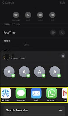 كيفية نقل جهات الاتصال من هاتف iPhone إلى هاتف أيفون أخر 3