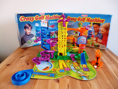 Waddingtons Crazy Golf Machine board game