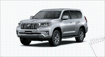 Đánh giá xe Toyota Land Cruiser Prado VX 2019