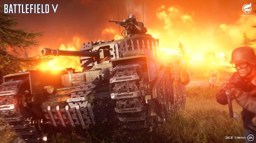 Firestorm: il nuovo trailer del Battle Royale di Battlefield 5 ci prepara tutti a sfuggire al suo anello di fuoco