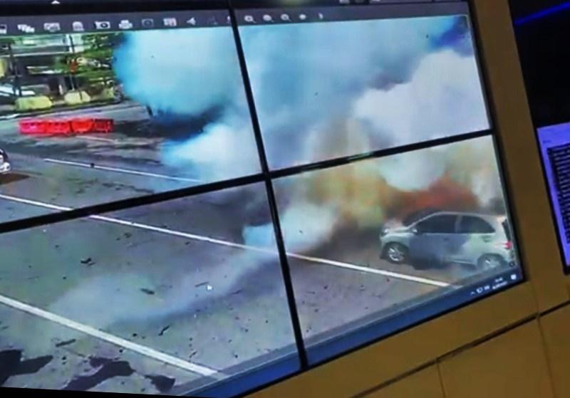 Bom di Makassar, Korban Sementara 14 Orang Mengalami Luka-luka