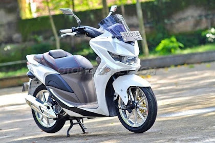 Modifikasi Honda Spacy Jadi NMAX versi mini