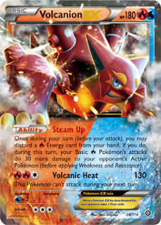 Volcanion EX Steam Siege