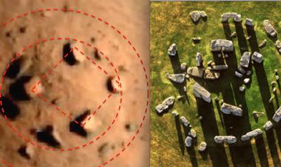 Marshenge, la Stonehenge di Marte