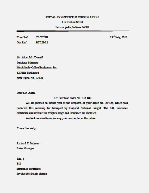 contoh surat semi block form surat 6