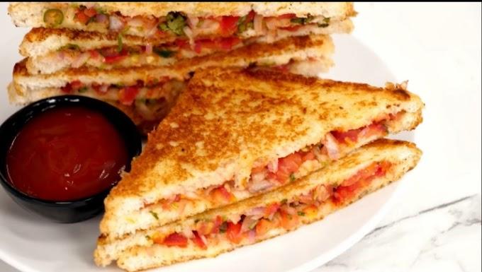 Bread Sandwich Recipe In hindi  10 मिनट में बनाए बाज़ार जैसे सैंडविच आसान तरीके से