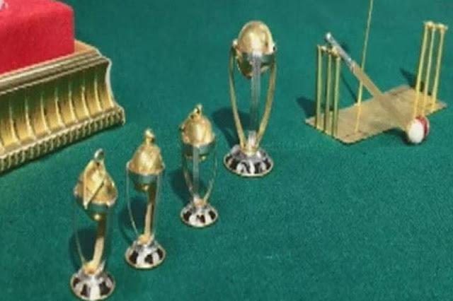 वर्ल्डकप की दीवानगी में इस शख्स ने बना डाले सोने के बैट-बॉल