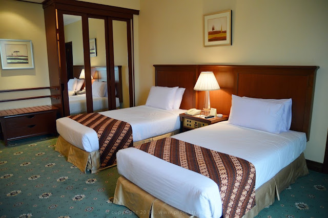 Keadaan bilik Garden Wing Room, Hotel Klana Resort Seremban