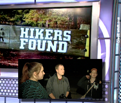Hikers Rescued After Searching for UFOs