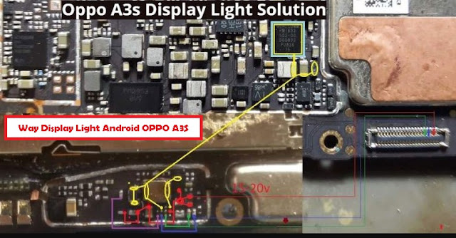 How To Repair The Damage Oppo A3S No Display Light