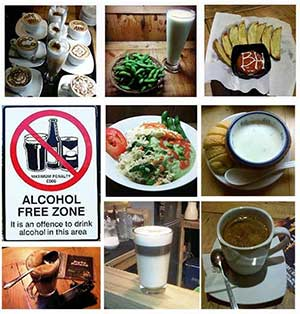 Menu Kafe Kolong