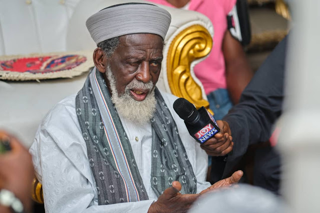 Homosexuality is totally unacceptable in Islam and should never be legalized - Chief Imam of Ghana, Sheik says