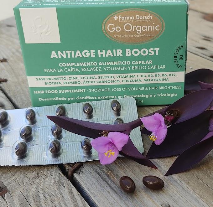 ANTI-AGE HAIR BOOST de Farma Dorsch, el suplemento capilar que te salvará este otoño